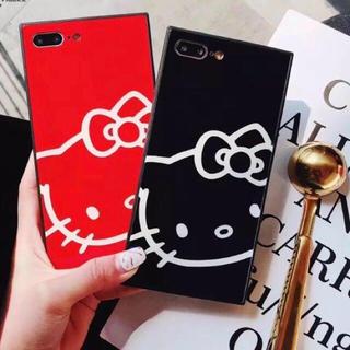 iPhoneケース キティちゃん スクエア型 (iPhoneケース)