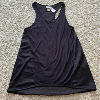 H&M - 新品未使用 H&M 黒 タンクトップ メッシュ バスケ ダンス 衣装