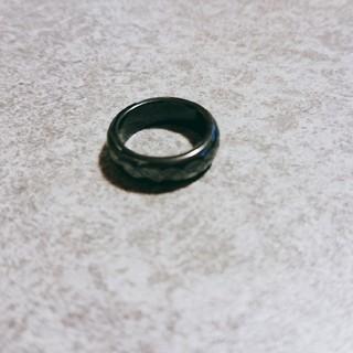 ブラックオニキス 天然石 パワーストーン リング 指輪(リング(指輪))