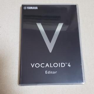 未開封未使用 vocaloid4 editor