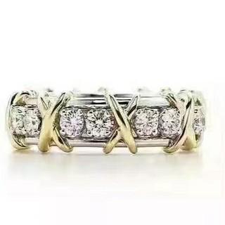 Tiffany & Co. - Tiffany&Co指輪綺麗美品大人気キラキラ