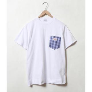 coen - coen 新品未使用 ポケットTシャツ チェック柄 完売品