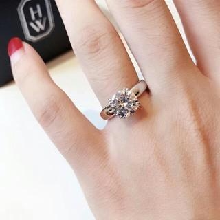 ハリーウィンストン(HARRY WINSTON)のHARRY WINSTON K18PG ダイヤモンド リング(リング(指輪))