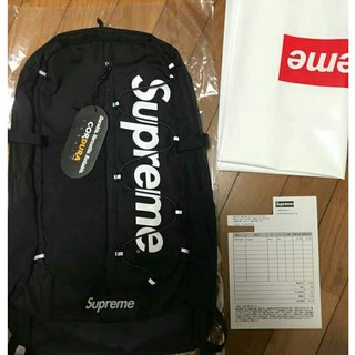 Supreme 17ss バックパック backpack 黒
