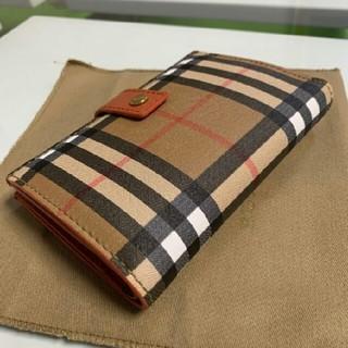 BURBERRY - BURBERRY フォールディングウォレット レディース 二つ折り財布
