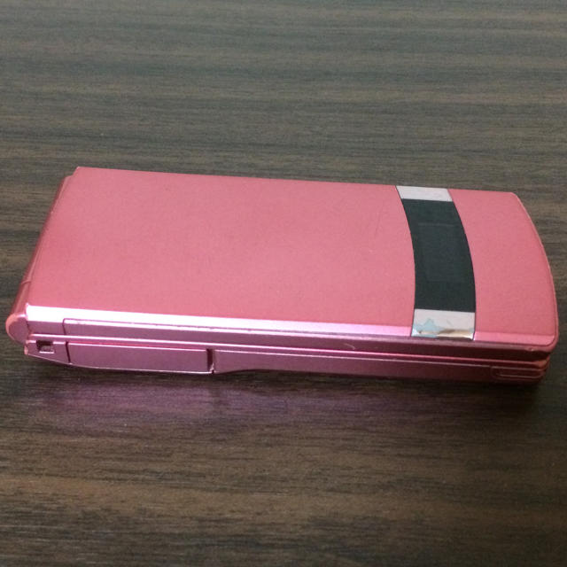 NTTdocomo(エヌティティドコモ)のN-01E ピンク ガラケー 携帯電話 ドコモ スマホ/家電/カメラのスマートフォン/携帯電話(携帯電話本体)の商品写真