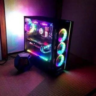 エイスース(ASUS)の最強超ゲーミングPC 周辺機器セット! 9900K rgb祭り(PC周辺機器)