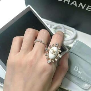 シャネル(CHANEL)のCHANEL シャネル 指輪 スクロールラベルリング ラージ (リング(指輪))