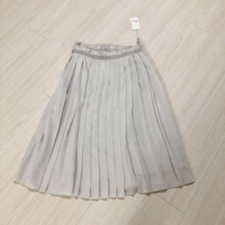 COMME CA ISM - コムサイズム 新品 プリーツスカート