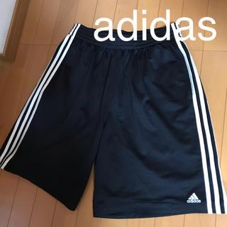 adidas - 美品!adidas アディダス ハーフパンツ     ブラック タイムセール!