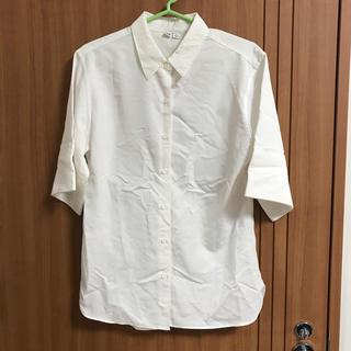 ユニクロ(UNIQLO)のユニクロユー ブラウス(シャツ/ブラウス(半袖/袖なし))