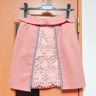 リリーブラウン(Lily Brown)の美品☆リリーブラウン スカート ピンク(ミニスカート)