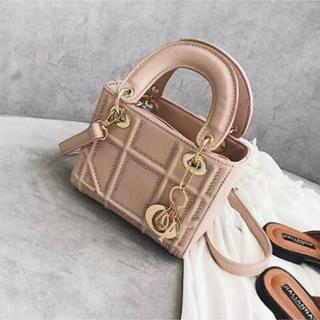 ディオール(Dior)のちちい様専用 dior 風 バッグ ピンク(ハンドバッグ)