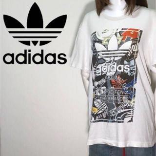 adidas - 【01-540】アディダスオリジナルス 半袖Tシャツ ビッグシルエット