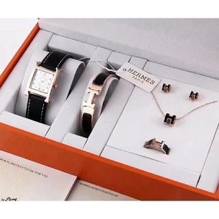 Hermes - Hermes腕時計、ブレスレット、ネックレス、指輪、イヤリング