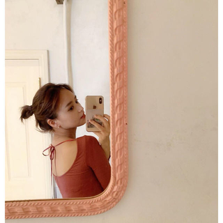 EDIT.FOR LULU - mangata Ballerina tee 新品 cassis