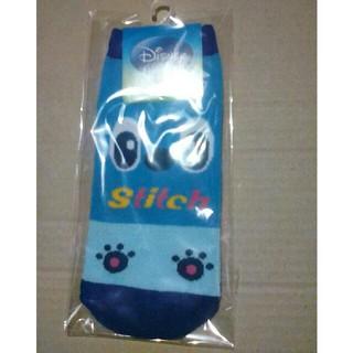スティッチ靴下 22~24センチ ディズニー(ソックス)