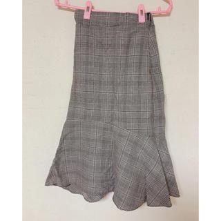 ゴゴシング(GOGOSING)の韓国 マーメイドスカート(ひざ丈スカート)