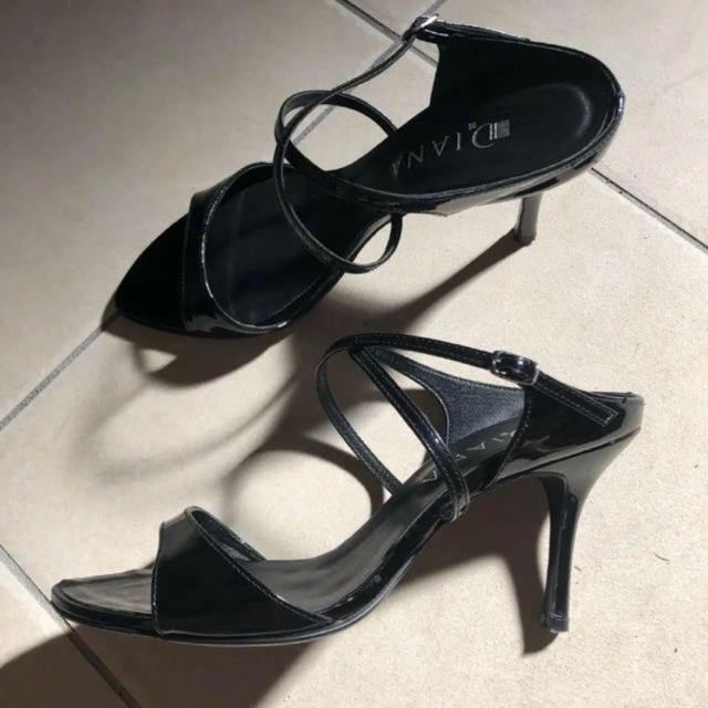 DIANA(ダイアナ)のDIANA ダイアナ サンダル ミュール  23.5cm レディースの靴/シューズ(サンダル)の商品写真
