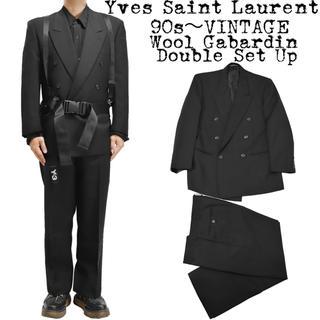 サンローラン(Saint Laurent)の美品★定価約¥20万★Yves Saint Laurent★ダブル セットアップ(セットアップ)