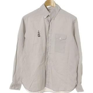 マウンテンリサーチ(MOUNTAIN RESEARCH)のマウンテンリサーチ BDシャツ グレー sサイズ(シャツ)