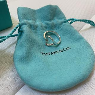 ティファニー(Tiffany & Co.)のエルサペレッティ  オープンハートリング(リング(指輪))