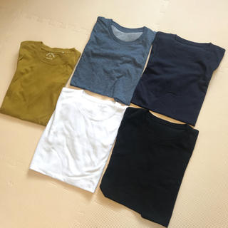 UNIQLO - ユニクロ GU  Tシャツ まとめ売り 5枚組 ★ メンズSサイズ