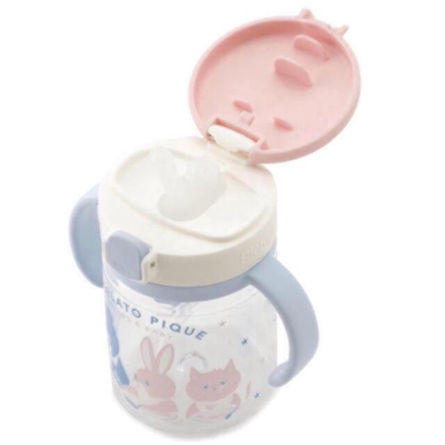 gelato pique(ジェラートピケ)の未開封🎁プレゼント包装🌸 baby ストローマグ🌸 ジェラートピケ  キッズ/ベビー/マタニティの授乳/お食事用品(マグカップ)の商品写真