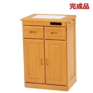 キッチンカウンター 収納棚 レンジ台 コンセント付き 間仕切り