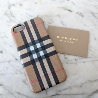 バーバリー(BURBERRY)の【新品】BURBERRY ヴィンテージチェック iPhoneケース ユニセックス(iPhoneケース)