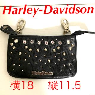 Harley Davidson - 【本革】【ハーレーダビッドソン】レディースヒップバッグ  スワロフスキー