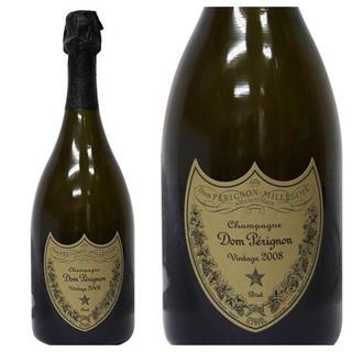 ドンペリニヨン(Dom Pérignon)のドンペリニヨン  白 2008 (2本)(シャンパン/スパークリングワイン)