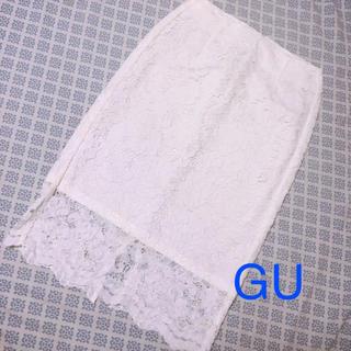 GU - レースタイトスカート(GU)