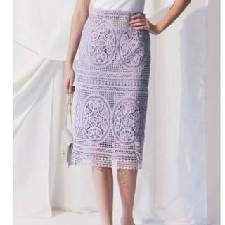 MERCURYDUO - マーキュリーデュオ未使用 幾何レースタイトスカート