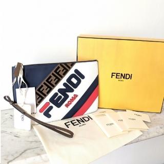 フェンディ(FENDI)の【新品★コラボ】FENDI×FILA マニア クラッチバッグ フェンディ×フィラ(クラッチバッグ)