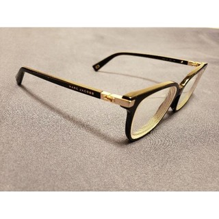 マークジェイコブス(MARC JACOBS)のMarc Jacobs 黒い オーバーサイズ メガネフレーム(サングラス/メガネ)