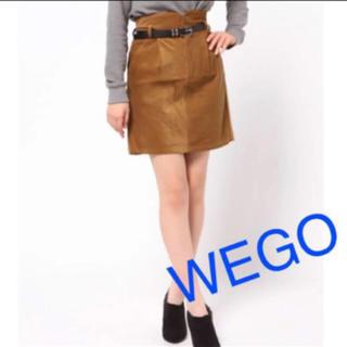 WEGO - コーデュロイコクーンスカート(WEGO)