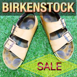 ビルケンシュトック(BIRKENSTOCK)のBIRKENSTOCK ビルケンシュトック アリゾナ 黄土 ベージュ【SALE】(サンダル)