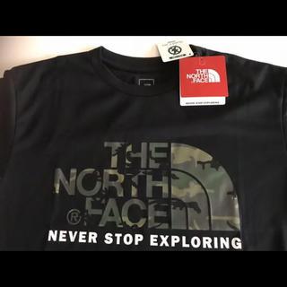 THE NORTH FACE - 【未開封】ノースフェイス Tシャツ 新品タグ付 黒色 Mサイズ カモフラージュ柄