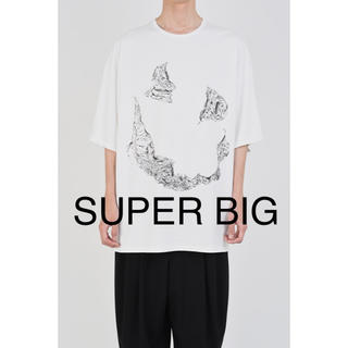 LAD MUSICIAN - SUPER BIG T-SHIRT  顔T オバケT 新品