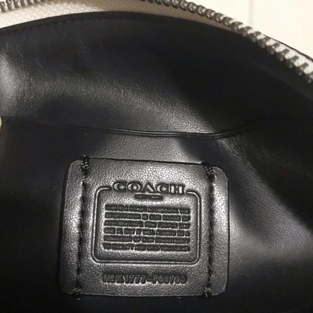 COACH(コーチ)のCOACH 新品未使用ポーチ レディースのファッション小物(ポーチ)の商品写真