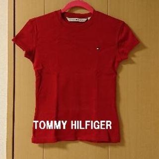 TOMMY HILFIGER - ★格安 TOMMY HILFIGER(トミーヒルフィガー)Tシャツ 赤★