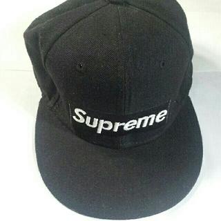 Supreme - キャップ  Supreme  カラー 黒