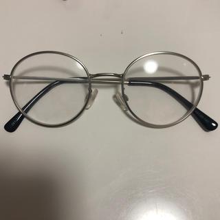 GU - 銀縁 メガネ