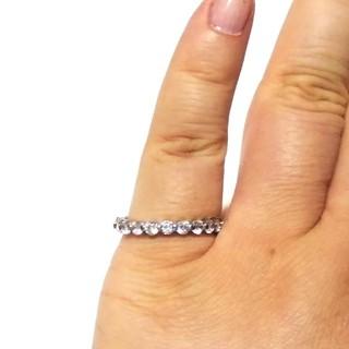 キラキラ 光る フルエタニティ リング 指輪 13.5号(リング(指輪))