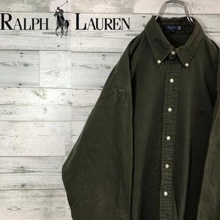Ralph Lauren - 【きららさん】ラルフローレン☆2XL相当 ビッグサイズ ワンポイント 刺繍ロゴ