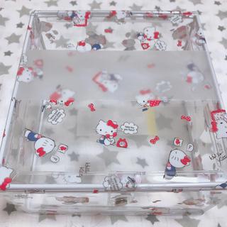 ハローキティ(ハローキティ)のハローキティ クリアBOX クリアケース(ケース/ボックス)