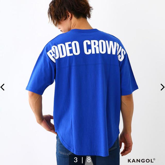 RODEO CROWNS WIDE BOWL(ロデオクラウンズワイドボウル)のロデオ★メンズ KANGOL コラボ Tシャツ/L メンズのトップス(Tシャツ/カットソー(半袖/袖なし))の商品写真