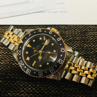 ロレックス(ROLEX)のhiro様専用 GMTマスター 19753 フジツボ トリチウム プラ風防(腕時計(アナログ))