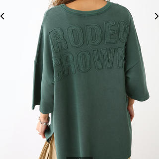 RODEO CROWNS WIDE BOWL - 新品未使用 タグ付き ワッフルTシャツ グリーン